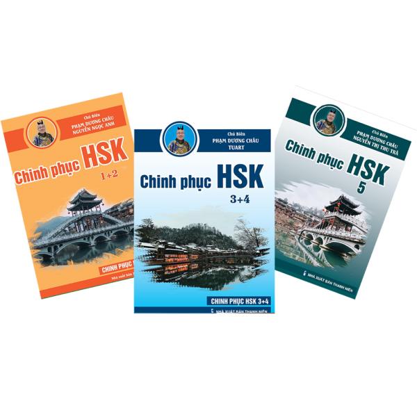 Mua Sách - Combo Chinh Phục HSK 12345 - 3 Quyển - (Bài tập - Đáp án - Giải thích) Phạm Dương Châu