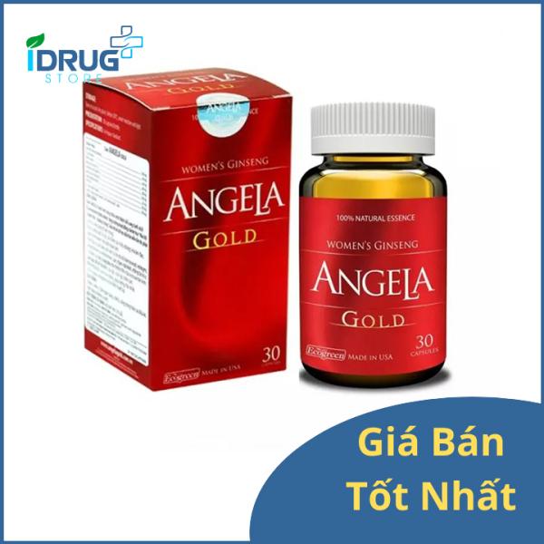 Sâm Angela Gold - Tăng cường sinh lý nữ (30 viên) nhập khẩu