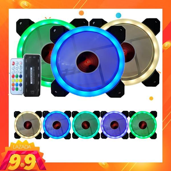 Giá Combo 3 Fan Case RBG Coolmoon Kèm bộ điều khiển - Kim Hải Computer - KHC