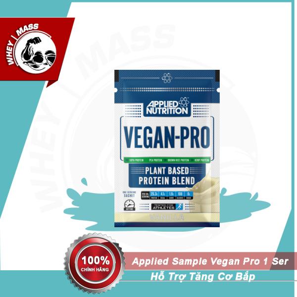 Gói Dùng Thử Sữa Tăng Cơ Sample Vegan Protein 30gram 1 Lần Dùng
