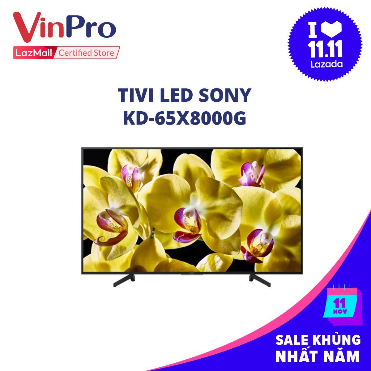 Bảng giá TIVI LED SONY KD-65X8000G