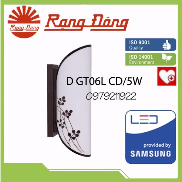 Đèn LED Gắn Tường Trang Trí Cao Cấp Rạng Đông (D GT06L CD/5W)