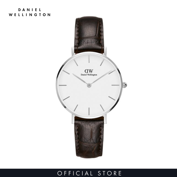 Đồng hồ Nữ Daniel Wellington dây da - Petite York 32mm DW00100188