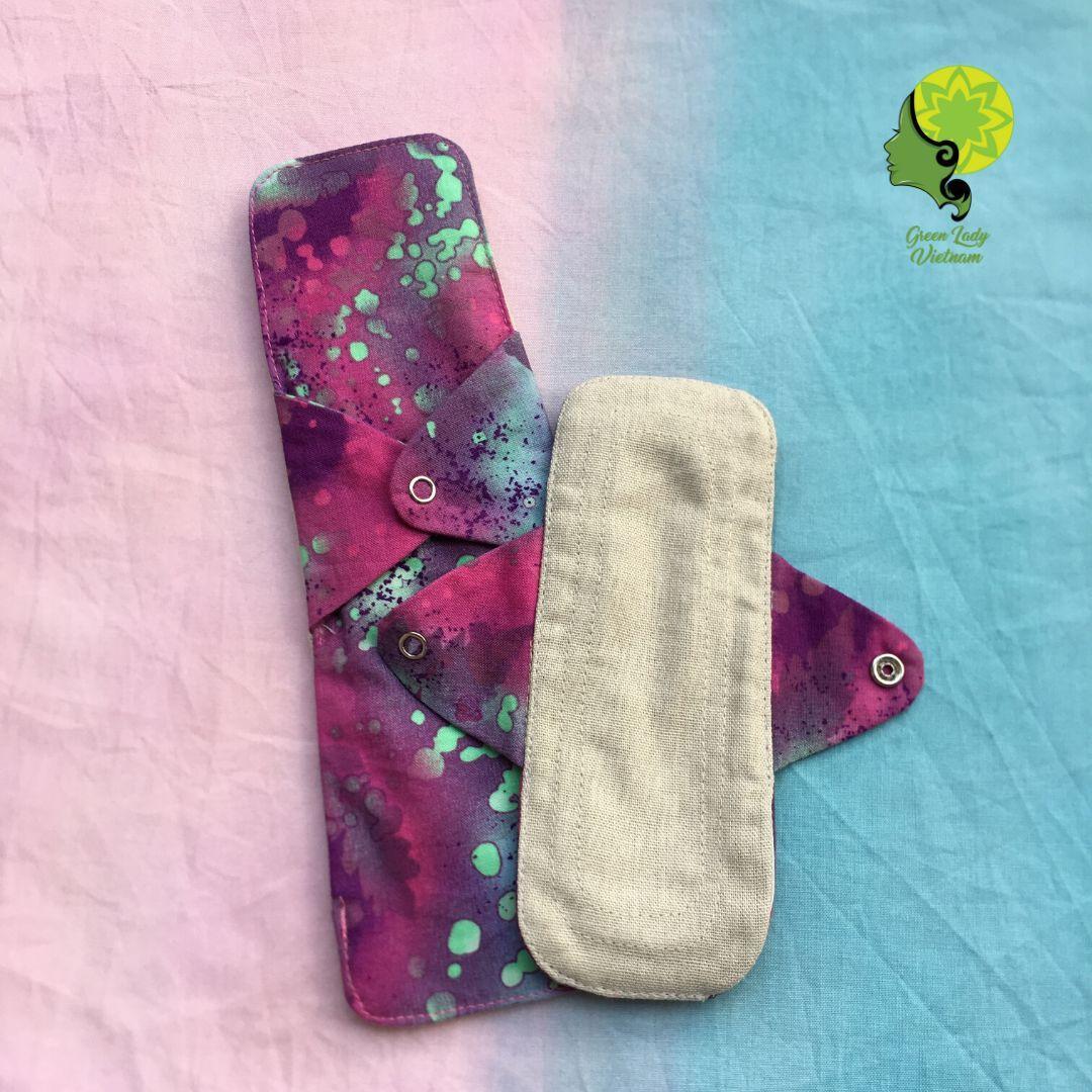 Băng vệ sinh vải mềm mại, không hóa chất - BST Galaxy - Băng vải hàng ngày