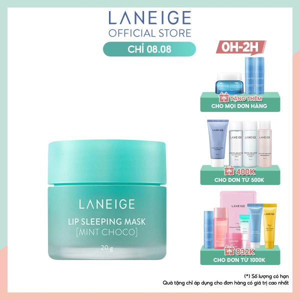 Mặt nạ dưỡng ẩm tối ưu Laneige Lip Sleeping Mask Mint Choco 20g