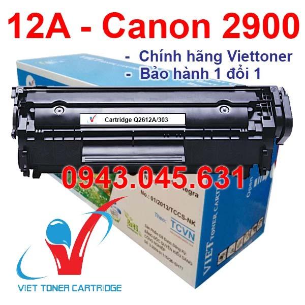 Bảng giá Hộp Mực 12A - Canon 2900, 3000, FX9 - Hp 1010, 1020, 1022, 1018, 3050, 3015 - Cartridge Q2612A - Canon 303 [Full Box] Phong Vũ