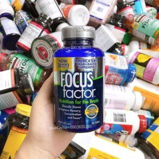 viên uống giúp tăng cường sự tập trung của não bộ focus factor 180 viên thumbnail