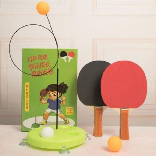 Bóng bàn luyện phản xạ cho bé - Đồ chơi tại nhà - Dụng cụ luyện thị giác - Đồ chơi trẻ em bóng bàn nâng cao kĩ năng cho trẻ