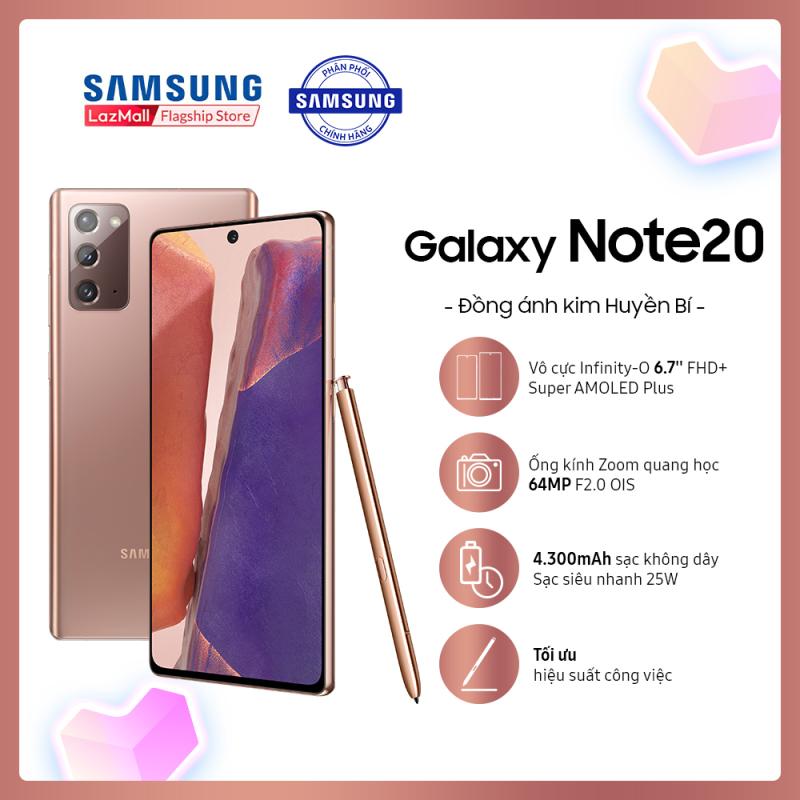 Điện thoại Samsung Galaxy Note20 - Hàng phân phối chính hãng