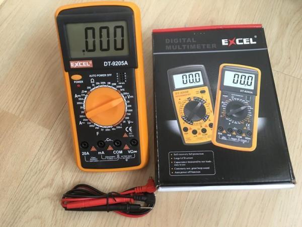 Đồng hồ đo vạn năng Excel 9205A [Mẫu mới 2020] Cho thợ sửa chữa điện tử