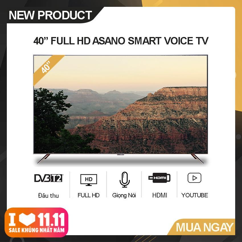 Bảng giá Smart Voice Tivi Asano 40 inch Full HD - Model 40EK7 (Đen) Hệ điều hành Android, Độ phân giải Full HD, Điều khiển giọng nói, Tích hợp DVB-T2 - Bảo Hành 2 Năm