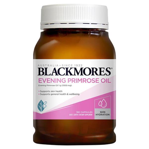 Tinh dầu hoa anh thảo Blackmores Evening primrose oil, thực phẩm chức năng hoa anh thảo úc cân bằng nội tiết tố Blackmore 190v cao cấp
