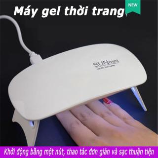 Máy hơ sơn gel mini cao cấp, siêu tiện lợi dễ sử dụng, nhanh khô (màu ngẫu nhiên) thumbnail
