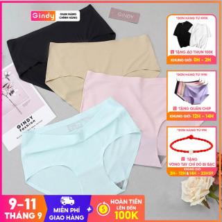 Quần lót nữ GINDY không đường may cotton co dãn cực mềm mịn QL0221004 thumbnail