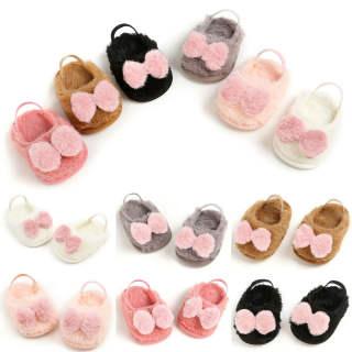 Đôi giày tập đi đế mềm chống trượt cho bé gái sơ sinh từ 0-18M (có nhiều màu khác nhau) - INTL