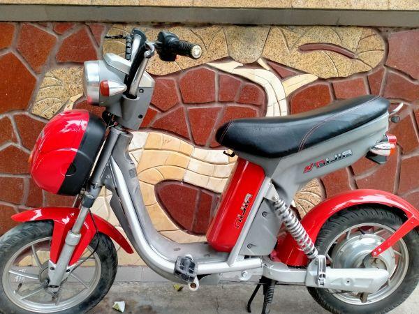 Phân phối Xe đạp điện Ninja màu đỏ đã qua sử dụng