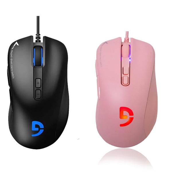 Bảng giá Chuột Gaming Fuhlen G90 Optial USB Black/Pink - Hàng Chính Hãng Phong Vũ