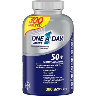 [HÀNG MỸ] One A Day Men s Multivitamin complete cho Nam trên 50 tuổi - 300 viên thumbnail