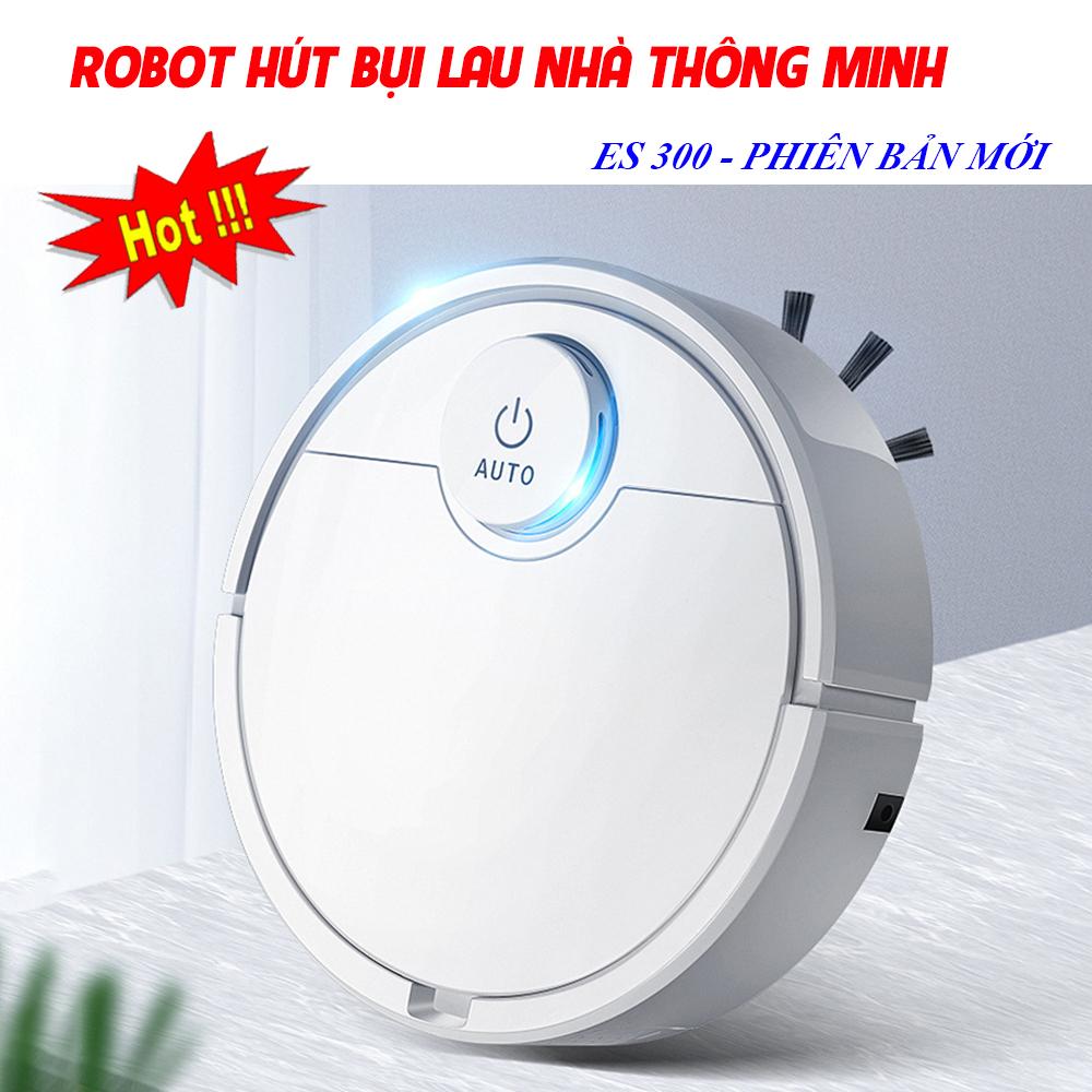 Mua Máy Hút Bụi Loại Nào Tốt, Máy Robot Hút Bụi Thông Minh, Robot Hút Bụi. Tự Động Phát Hiện khi gặp các vật cản , Dễ Dàng Làm Sạch Các Vị Trí Khó Như Gầm Giường, Tủ,  Vận Hành Êm Ái ko có tiếng ồn, MUA NGAY!!!
