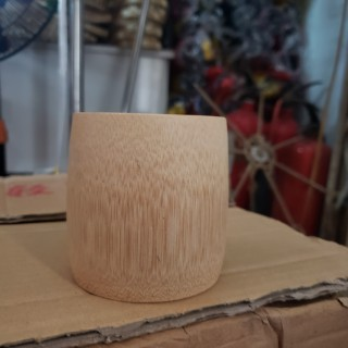 Ly tre Cóc tre - Bamboo cup -Ly Uống Nước Caffe Trà thumbnail
