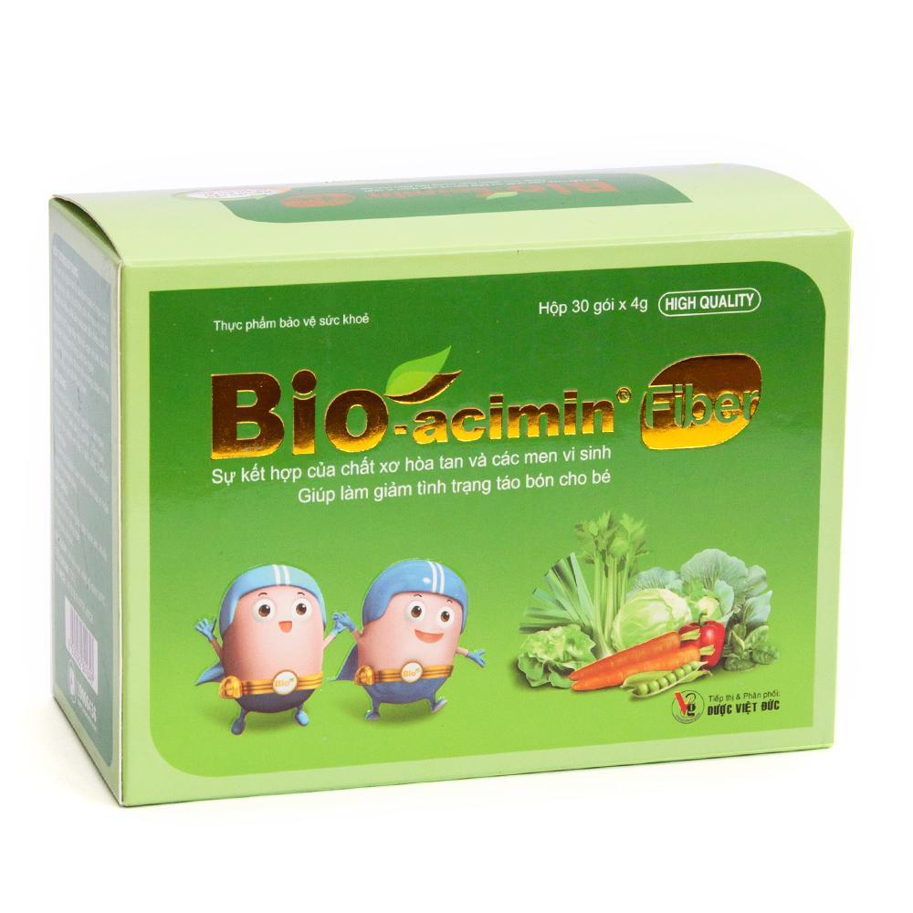 Cốm bổ sung chất xơ Bio Acimin Fiber 30 gói