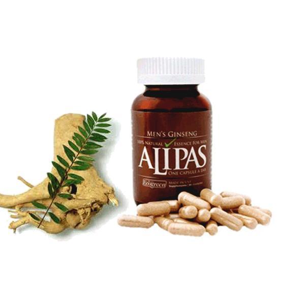 Sâm ALIPAS PLATINUM Cải thiện sinh lý nam giới (Chai 30 viên) chính hãng