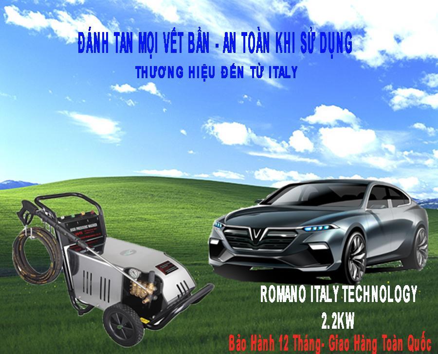 Máy Rửa Xe Romano RX-2200 cao áp 2.2KW