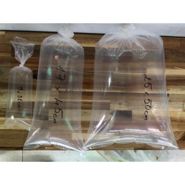 1kg bao ni long đóng cá cảnh chuyên dụng (kích thước 9x31 17x45 25x50)(25x50cm(200g))