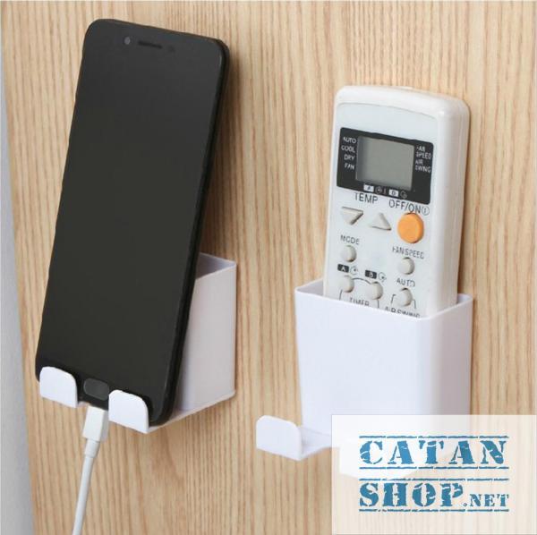 Kệ đựng remote máy lạnh đa năng treo Sạc Điện Thoại tiện dụng cho không gian nhà bạn thật gọn gàng. GD153-KRKTSac