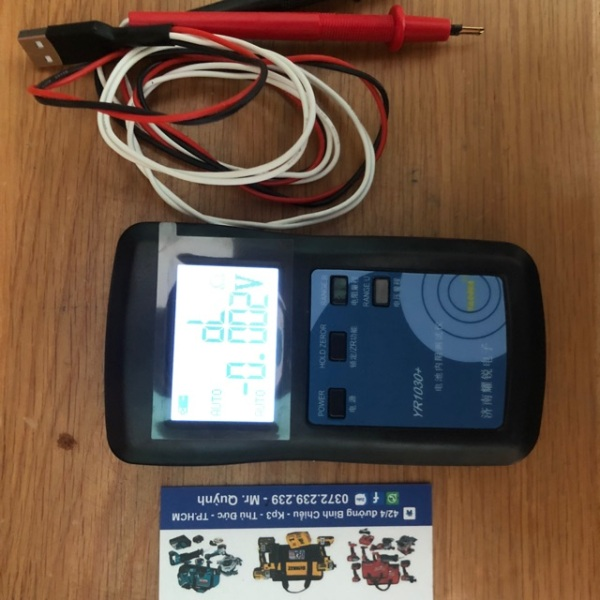 [HCM]Máy đo nội trở cell pin ir 1030+