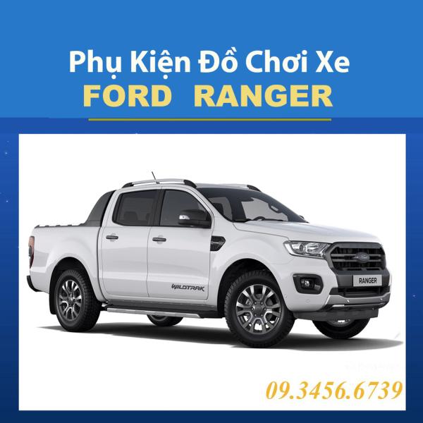 Phụ Kiện Trang Trí Xe Ford Ranger 2016 2017 2018 2019 2020 Màu ĐEN Thể Thao Cá Tính