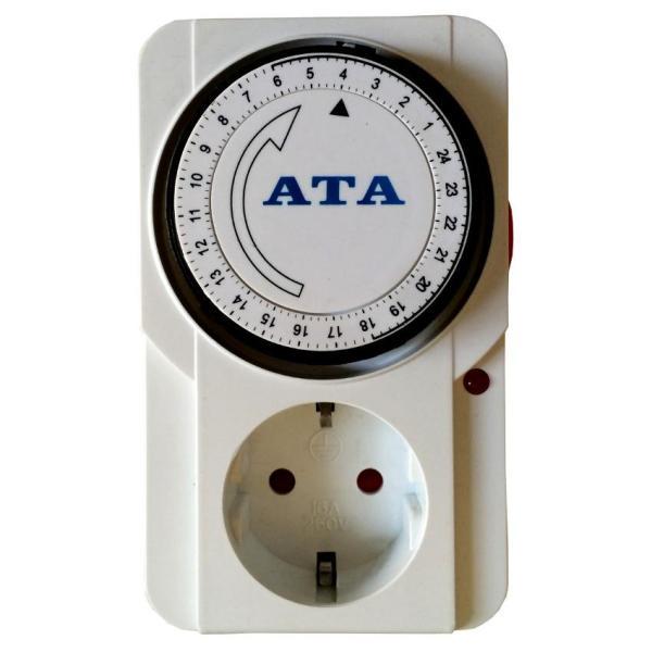 Bảng giá Ổ cắm hẹn giờ tắt mở thiết bị điện dạng cơ ATA AT-24A