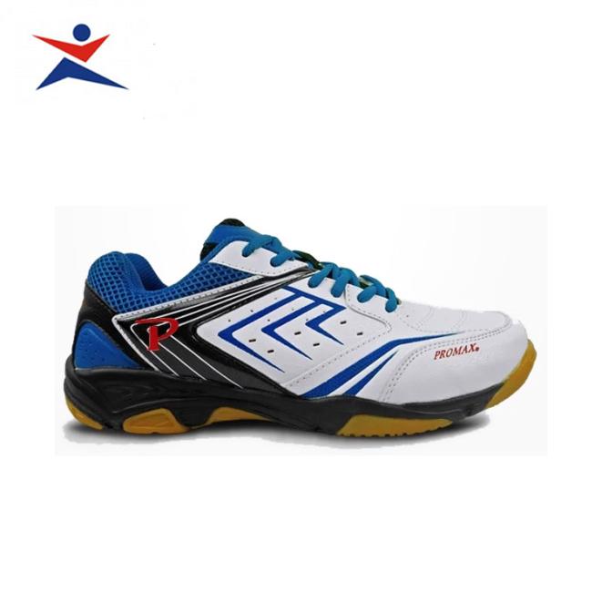 Giày cầu lông Promax PR19002 cao cấp , dành cho nam và nữ, màu trắng xanh - sportmaster - Giầy chơi cầu lông nam nữ - Giày đánh bóng chuyền giá rẻ