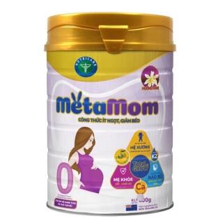 Sữa Meta Mom cho phụ nữ mang thai và cho con bú 900g(mẫu mới, có 3 vị) thumbnail