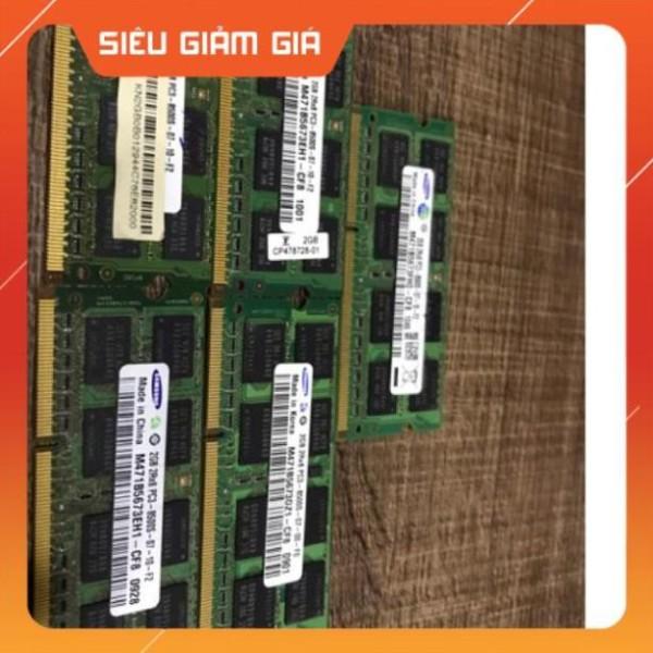 Bảng giá Ram laptop DDR3 2Gb va 4Gb PC3-8500 bus 1066mhz Phong Vũ