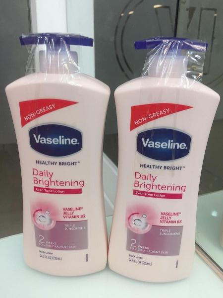 Sữa Dưỡng Thể Vaseline Body Lotion <mẩu mới> - Chai Hồng 725ml cao cấp