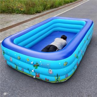 bán bể bơi trẻ em, bể bơi intex ba tầng , hồ bơi trong nhà , mua ngay bể bơi intex 2,1m cao cấp 2019 thumbnail
