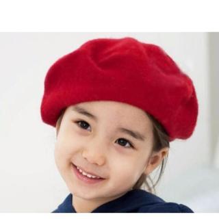 Mũ nồi len cho bé gái - Nón nồi len cho bé gái (Đỏ) - Nón cho bé gái - Đầm công chúa - Đầm bé gái - Titikids thumbnail