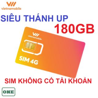 Sim 4G vietnamobile THÁNH ÚP 180GB không có tài khoản thumbnail