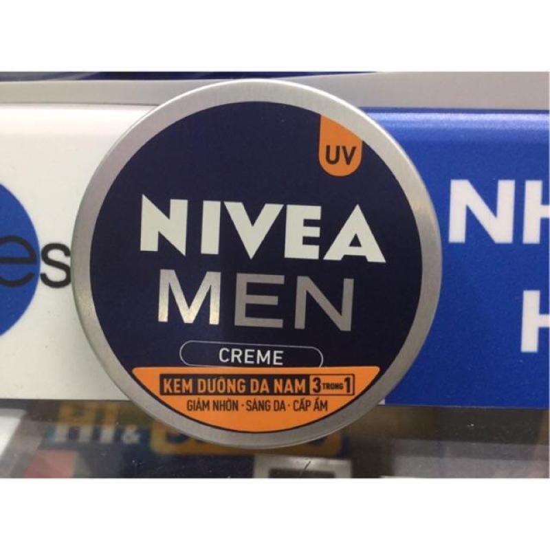 Kem dưỡng da nam Nivea Men Creme 3in1 chống UV - 30ml