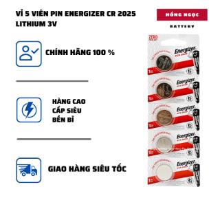 pin CR2025 ( CR 2025 ) Lithium 3V ENERGIZER combo 5 viên - Hàng Chính Hãng thumbnail