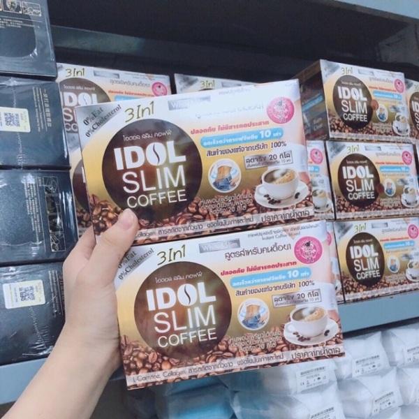 Cafe giảm cân idol slim cao cấp