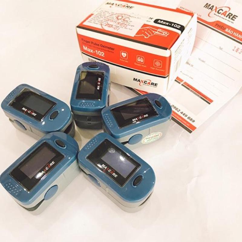 Máy đo SP02 Maxcare nồng độ oxy và nhịp tim bán chạy