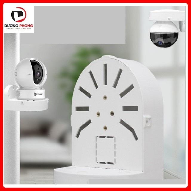 Chân đế camera wifi - camera ip đa năng gắn tường trần nhà bằng nhựa cao cấp - Dùng cho camera Ezviz, Imou, Hikvision, KBVision, KBone... Kèm bộ ốc vít