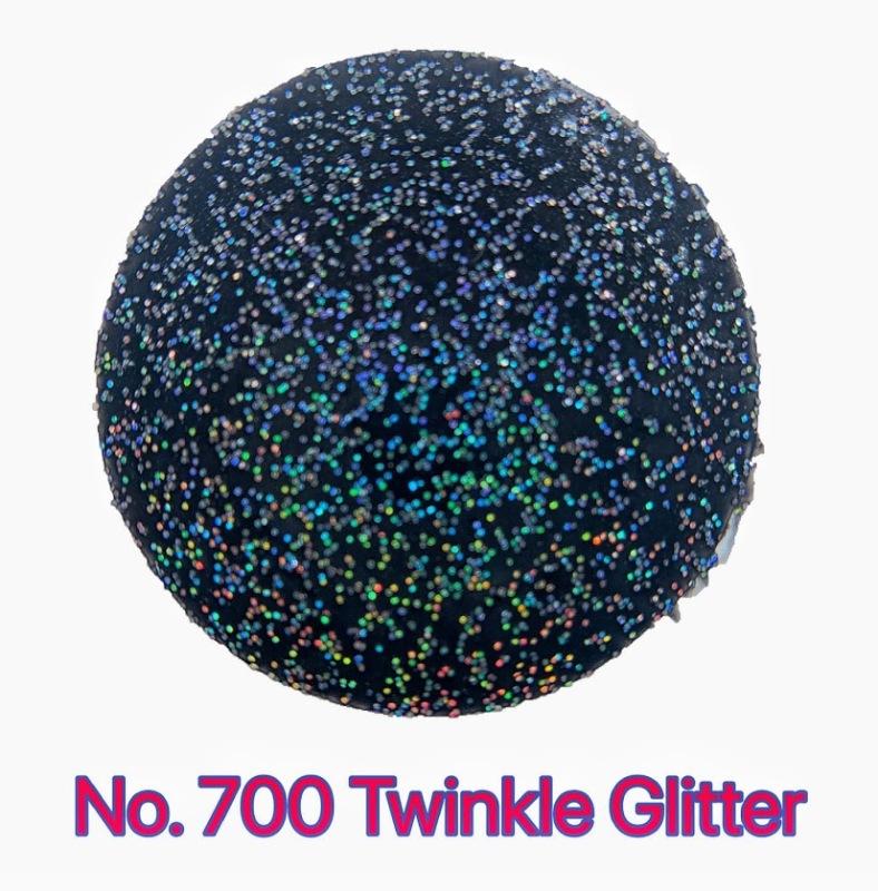 Sơn xịt Phủ Bóng hiệu ứng lấp lánh Bosny Glitters No.700 (Kim tuyến 7 màu)