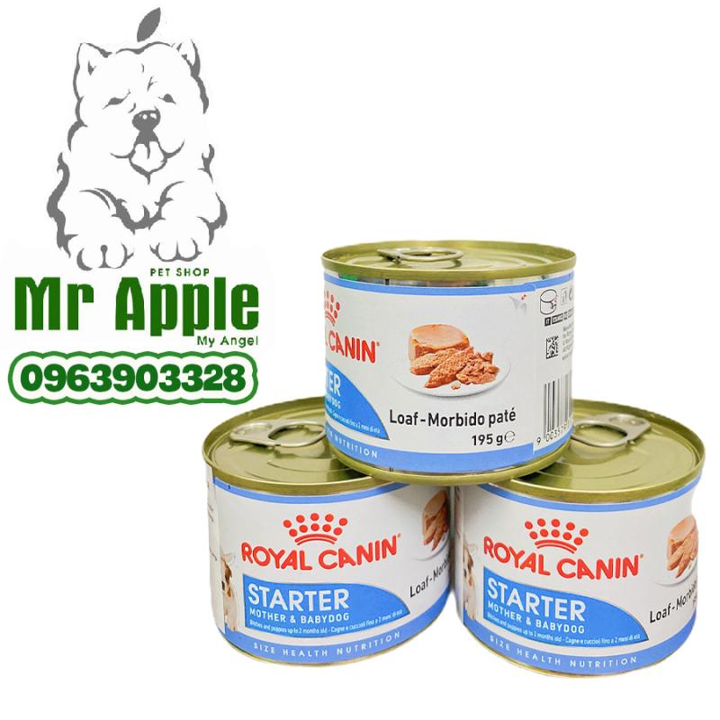 Thức ăn Pate dành cho chó mẹ mang thai, cho con bú và chó con đang cai sữa (Royal Canin Starter Mousse)-195G - TARCD037