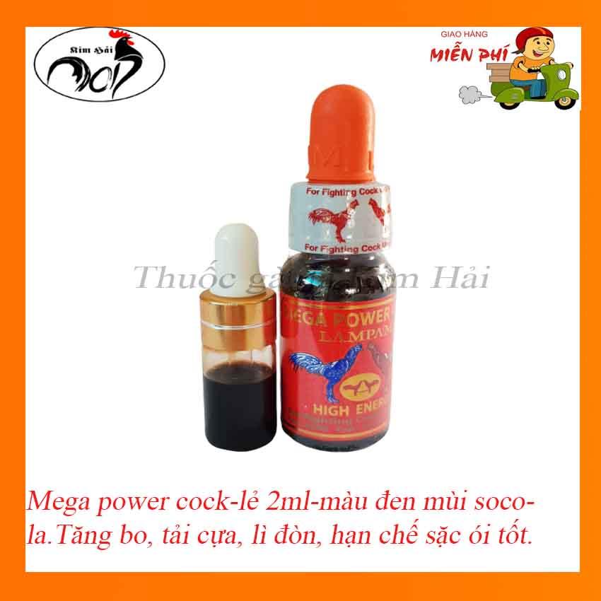 MEGA POWER COOK-LamPam Thái Lan Nước Màu đen Mùi Socola[chiết Lẻ 2ml]-nhỏ Trước đá 30 Phút- Tăng Bo, Tải Cựa, Lì đòn, Hạn Chế Sặc ói Tốt. Đang Ưu Đãi Cực Đã