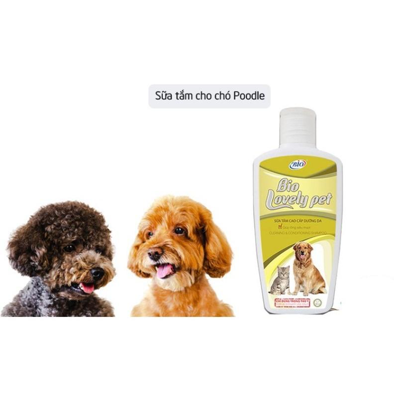 Sữa tắm mượt lông cho chó mèo- Bio Lovely Pet -200ml