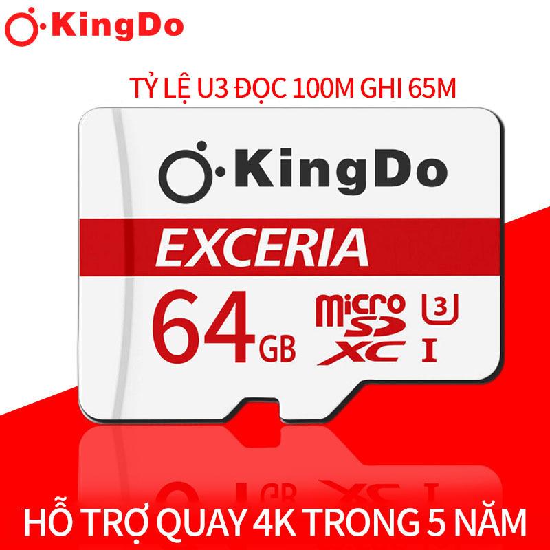 Kingdo Thẻ nhớ MicroSDXC Toshiba M203 UHS-I U1 64GB 100MB/s (trắng)