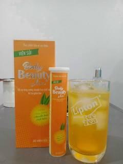 (Mẫu mới hộp 20v) Viên sủi hỗ trợ giảm cân cam Body beauty slim - giảm cân an toàn hiệu quả thumbnail